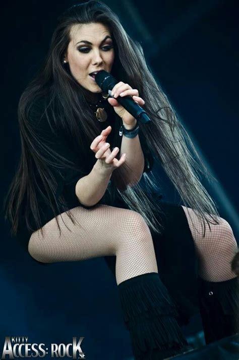 hot female metal singers elize ryd off chicks in metal girl power pinterest