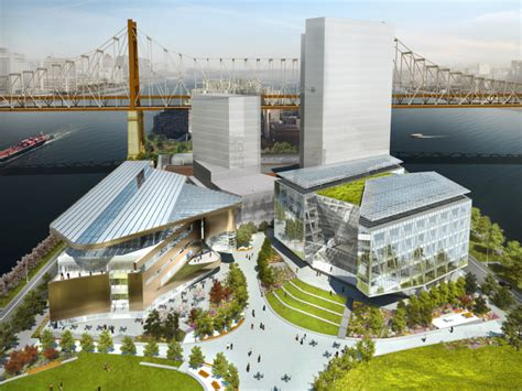 Cornell Tech Mba Facility by This Is What Cornell S Futuristic Nyc Tech Cus Will