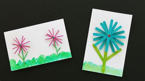 crafty cards to make easy diy thank you card for