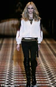 rock chic autumn fashion special rock chic daily mail online