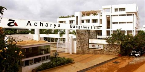 Mba College In Bangalore Cut by Acharya Bangalore B School Abbs Bangalore Cutoff 2017