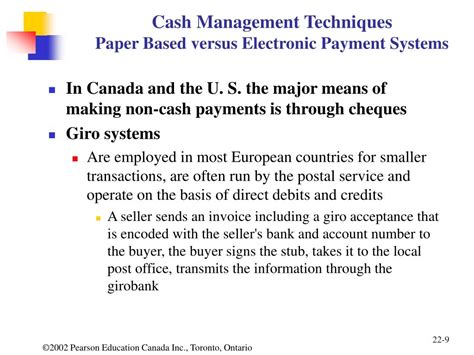 Essays Based Payment Reporting by Ppt Outline Chapter 22 And Marketable Securities Powerpoint Presentation Id 433577