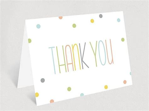 Free Printable Thank You Cards For Baby Shower Gifts - free printable baby shower thank you cards