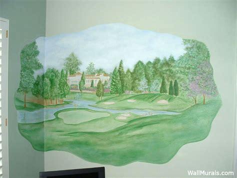 golf wall murals sports wall murals exles of sports murals