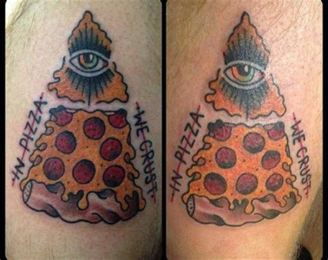 brightside tattoo 25 best ideas about pizza on
