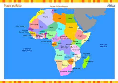 mapa america con division politica mapa de 193 frica con divisi 243 n pol 237 tica mapas tarjetas