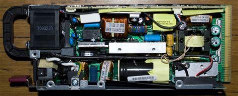 inside the hp ml350 g6 server power supply