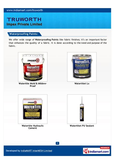 quality pattern works private limited truworth impex private limited jaipur coatings brands