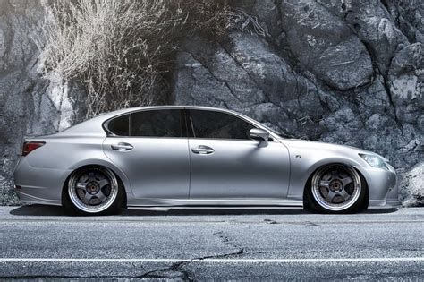 lexus gs350 f sport lowered lexus gs350 f sport slammed on work meister 3 pc wheels
