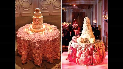 cake table decoration ideas easy wedding cake table decorations