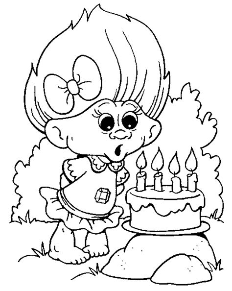 Coloring Pages Trolls Troll Coloring Pages For Kids Coloringpagesabc Com