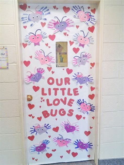 door decorations for valentines door