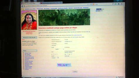 tutorial utilizare skype tutorial inscriere meditatii yoga online pe skype youtube