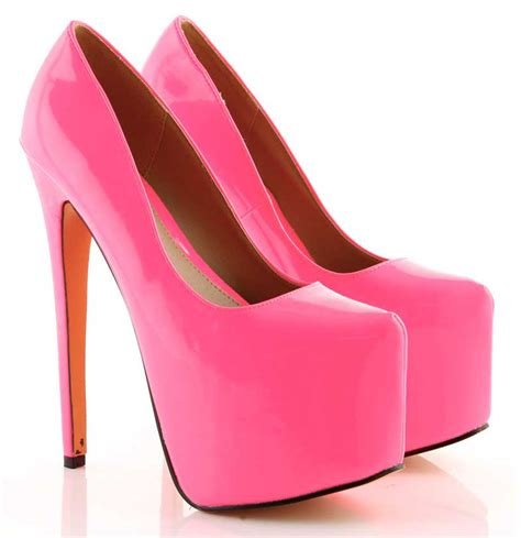 pink high heels shoes platform high heels for 50 high heels daily
