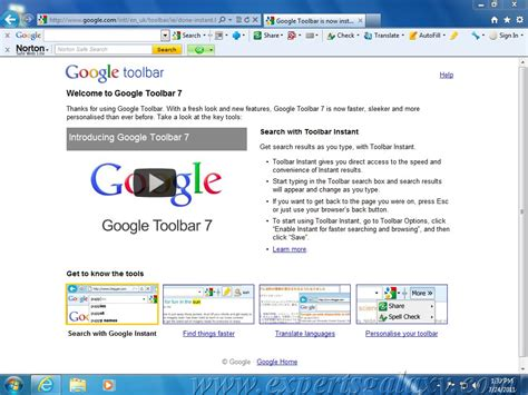 google toolbar google toolbar is now available for internet explorer only