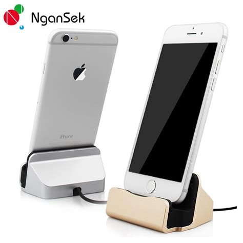 Batok Charger Apple Iphone 6 6s 7 7s 8 Plus X Adaptor Colokan Kepala aliexpress buy charger dock stand station for apple