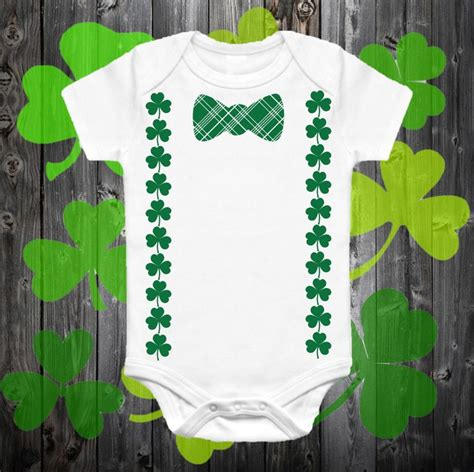 diy st s day bow tie onesie for st s day onesie suspender bow tie onesie shamrock suspenders clover suspenders