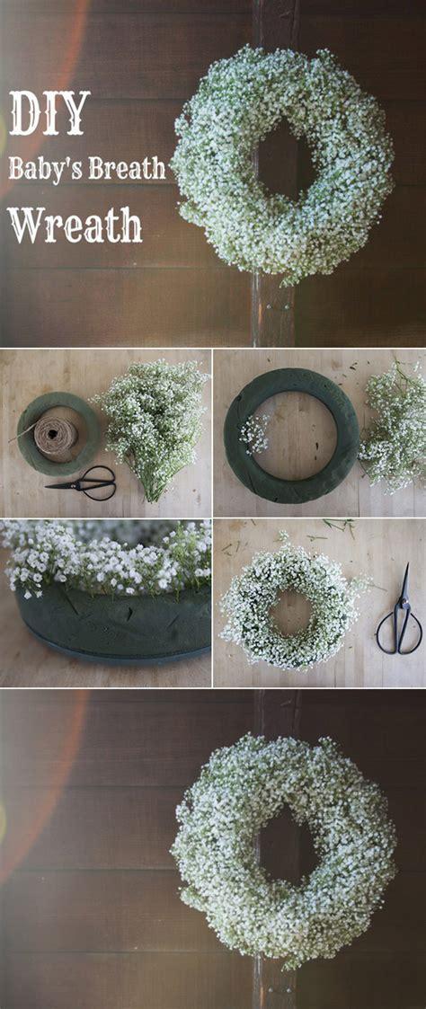 Diy Wedding Flower Ideas by Wedding Flowers 40 Ideas To Use Baby S Breath