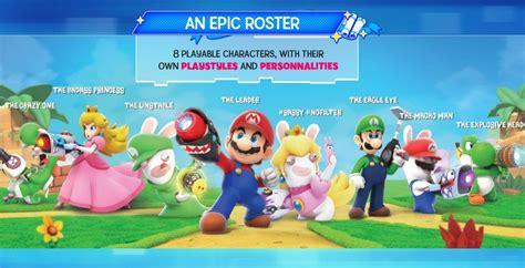 Murah Mario Rabbids Kingdom Battle Nintendo Switch nintendo switch exclusive mario rabbids kingdom battle