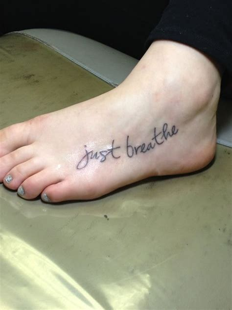 just breathe tattoo on finger just breathe fonts and the o jays on pinterest