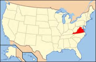 Virginia On Us Map by Map Of Usa Va Mapsof Net