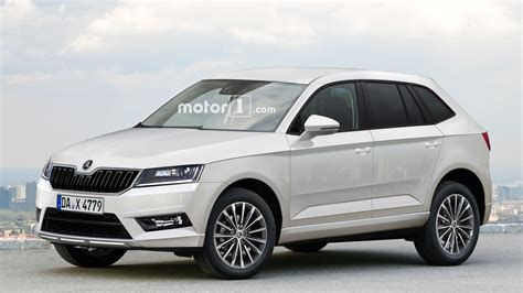 skoda yeti new model 2017 skoda yeti envisioned with vw tiguan genes