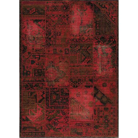 Distressed Wool Rug by Momeni Vintage Distressed Area Rug New Zealand Wool 5 3