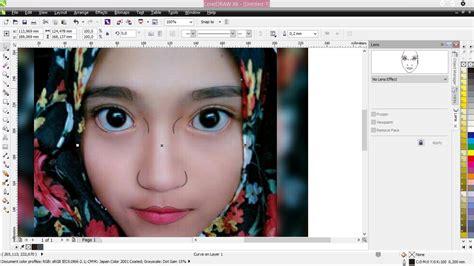 cara membuat foto menjadi kartun dengan coreldraw x7 cara membuat wajah kartun sederhana di corel draw btgrafis