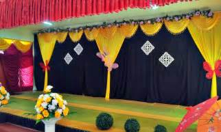 school decorations beautiful stage decoration ideas for different school