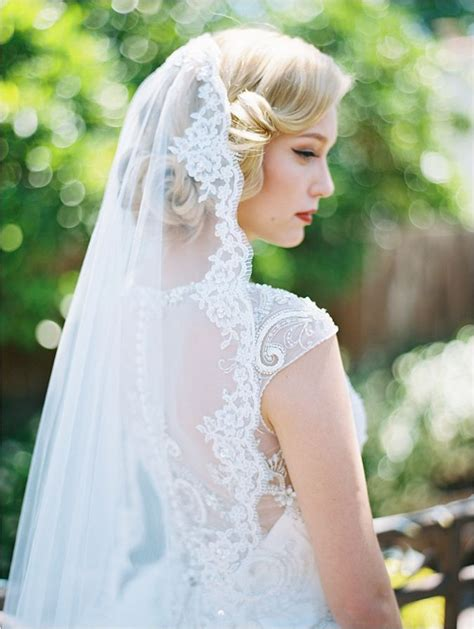 25 best ideas about wedding hairstyles veil on