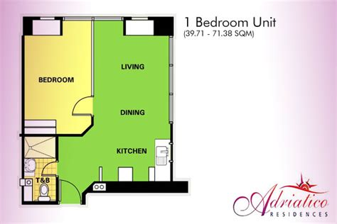 layout of robinson mall adriatico place residences malate manila