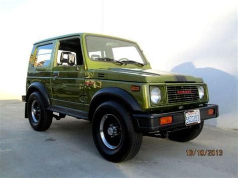 Suzuki 4x4 Jeep Purchase Used 1986 Suzuki Samurai 4x4 Hardtop Quot Mini Hummer