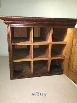 Antique Country Cabinet Mail Sorter Pigeonhole Small
