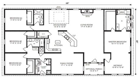 manufactured home plans single wide mobile home floor plans 3 bedroom