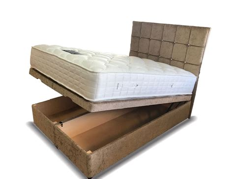 kingsize ottoman bed verano ottoman storage super kingsize divan bed