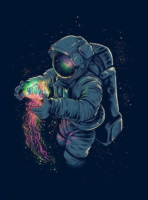 wallpaper tumblr astronot sanat alanlari ve cizimler