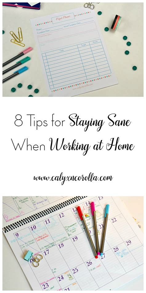 8tips For Staying Younger Longer by 8 Tips For Staying Sane When Working At Home Calyx Corolla