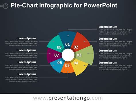 Pie Chart Infographic For Powerpoint Presentationgo Com Powerpoint Chart