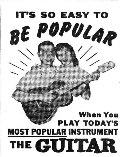 Forgot How To Play The Guitar by 27 Best Vintage Guitar Advertising Images On