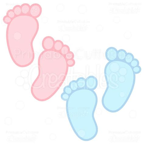 printable baby art free baby brown foot prints clipart clipart collection