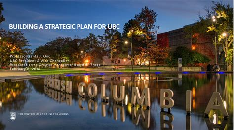 Ubc Mba 2018 by Inspire Building A Strategic Plan For Ubc Office Of The