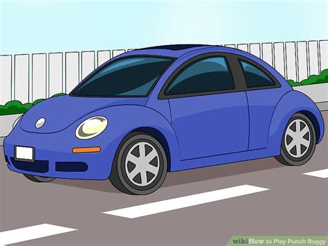 punch buggy car drawing how to play punch buggy 12 steps with pictures wikihow