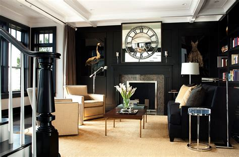black living room black and white living rooms design ideas