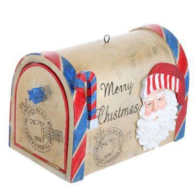 raz mailbox christmas ornament
