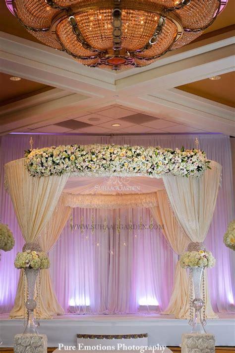 suhaag garden indian wedding decorator florida wedding decorator mandap white mandap