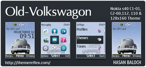nokia c2 00 themes one piece abstract theme themereflex