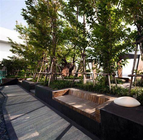 condominium garden  shma design interiorzine