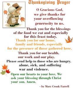 thanksgiving table prayer inspirational words
