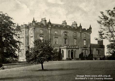 caldwell house scotland s lost country houses