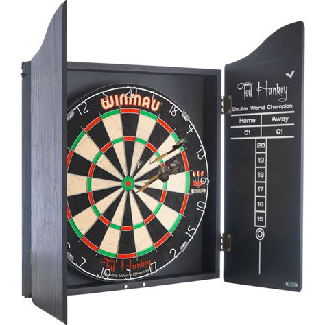 Winmau Ted Hankey Package Set Ted Hankey Dartboard